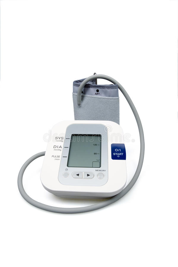 Tonometer for blood pressure stock photography