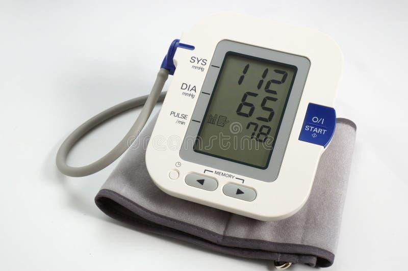 Tonometer elettronico medico fotografia stock