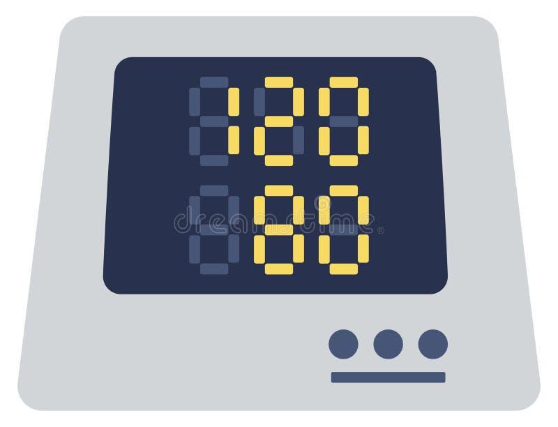 Tonometer numérique médical illustration libre de droits