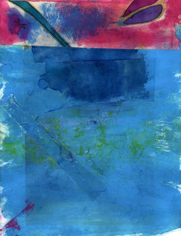Tonos abstractos de la joya stock de ilustración