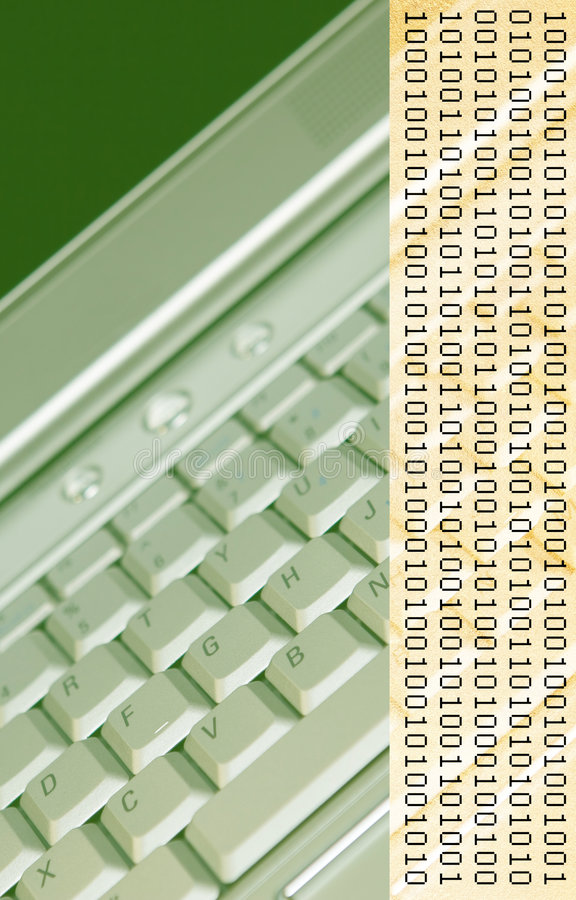 Tonos de la tierra que computan imagen de archivo