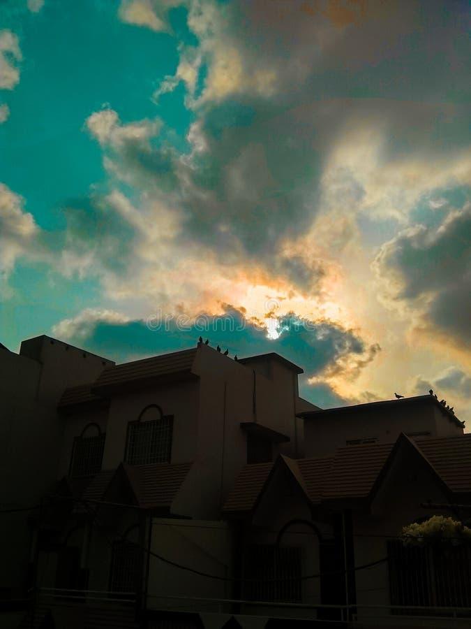 Tonos del cielo imagen de archivo libre de regalías