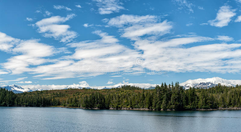 Tonpanorama Alaska-Prinzen William lizenzfreie stockbilder