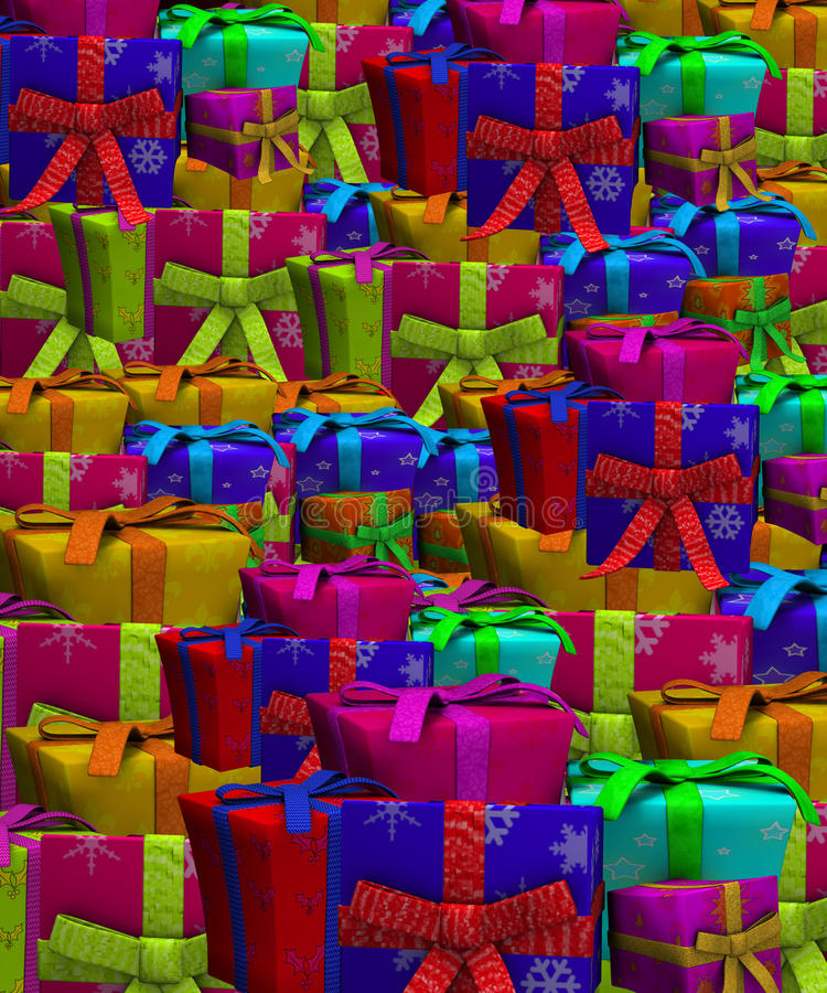 Tons Of Presents Stock Image