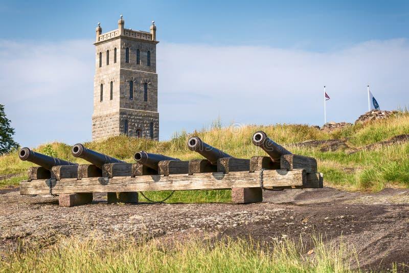 Tonsberg堡垒-挪威 库存图片
