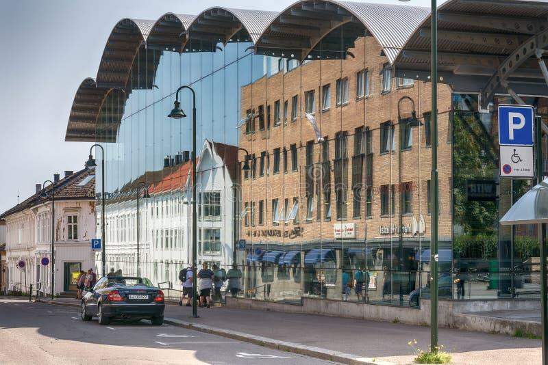 Tonsberg -挪威 免版税图库摄影