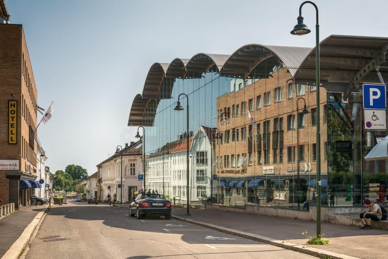 Tonsberg - Noorwegen stock foto