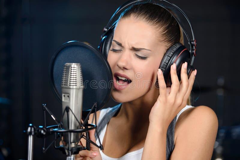 Tonstudio stockbild