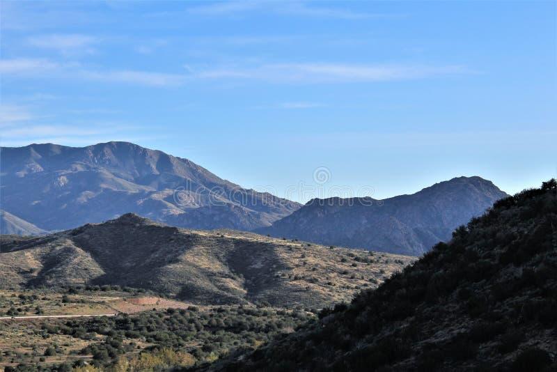 Tonto las państwowy, Arizona U S Departament Rolnictwa, Stany Zjednoczone obraz royalty free
