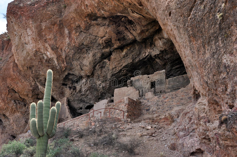 Tonto National Monument royalty free stock photos