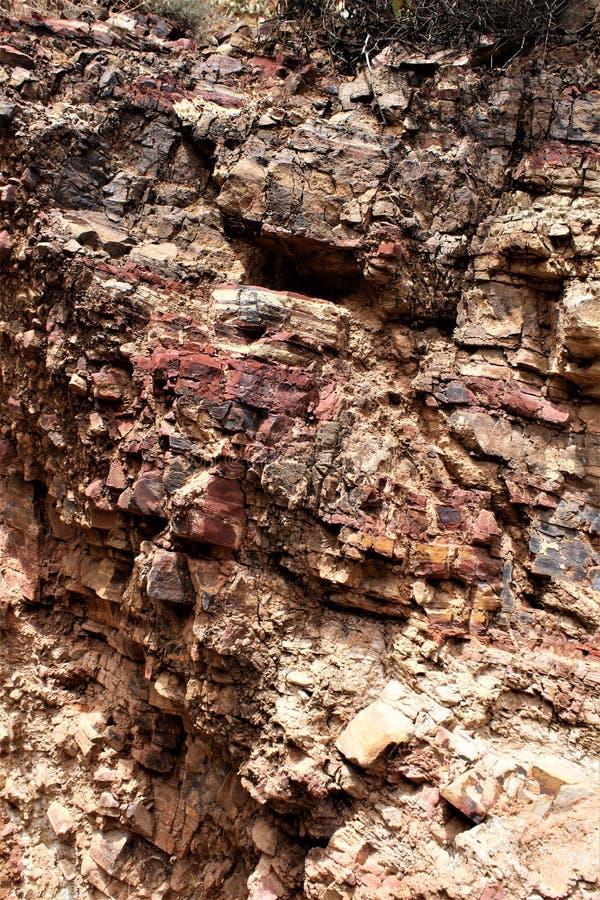 Tonto-Nationaldenkmal Cliff Dwellings, National Park Service, U S Innenministerium lizenzfreie stockfotografie