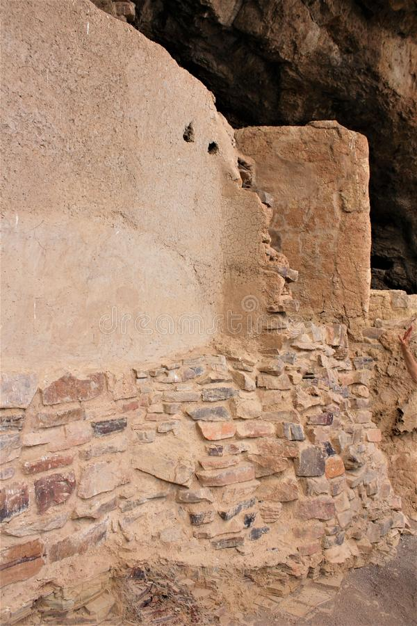 Tonto-Nationaldenkmal Cliff Dwellings, National Park Service, U S Innenministerium stockfoto