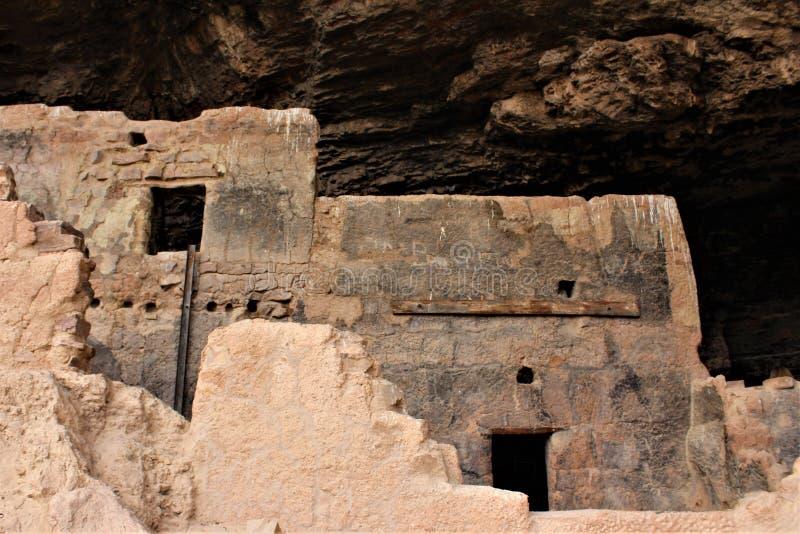 Tonto-Nationaldenkmal Cliff Dwellings, National Park Service, U S Innenministerium stockbilder