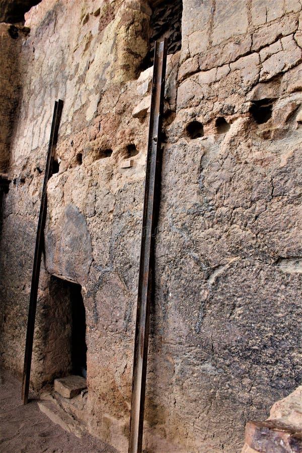 Tonto-Nationaldenkmal Cliff Dwellings, National Park Service, U S Innenministerium stockfotos