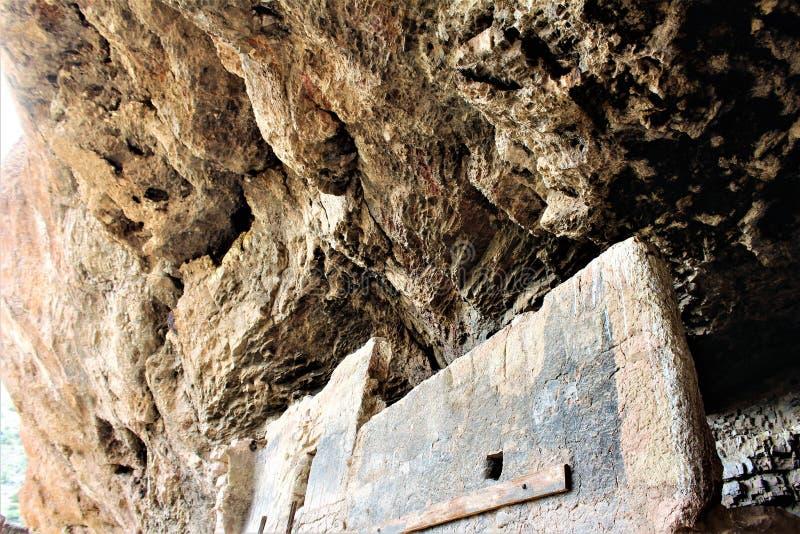 Tonto-Nationaldenkmal Cliff Dwellings, National Park Service, U S Innenministerium lizenzfreie stockfotos