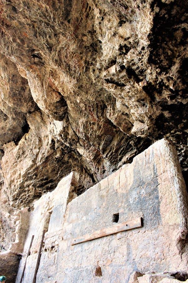 Tonto-Nationaldenkmal Cliff Dwellings, National Park Service, U S Innenministerium lizenzfreies stockbild