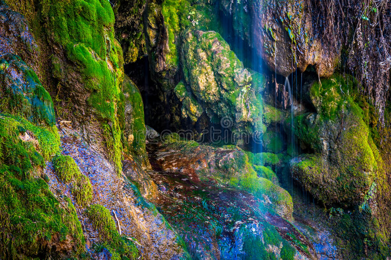 Tonto Natural Bridge State Park royalty free stock photography