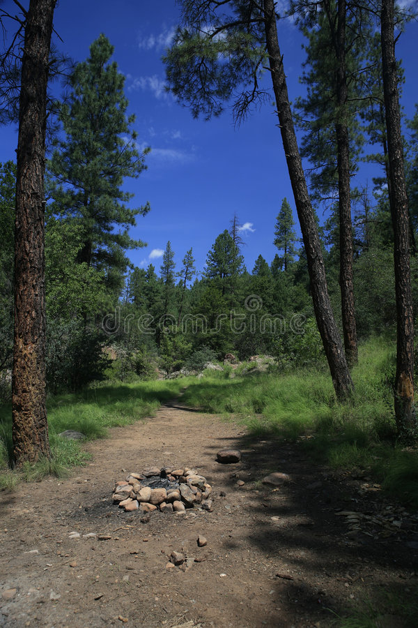 Tonto Nebenfluss, Payson Arizona lizenzfreies stockbild