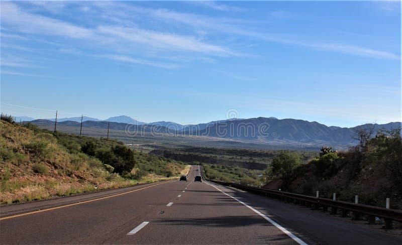 Tonto-staatlicher Wald, Arizona U S Landwirtschaftsministerium, Vereinigte Staaten stockfotografie