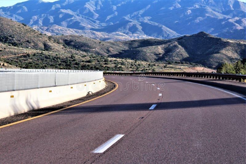 Tonto-staatlicher Wald, Arizona U S Landwirtschaftsministerium, Vereinigte Staaten lizenzfreie stockfotografie