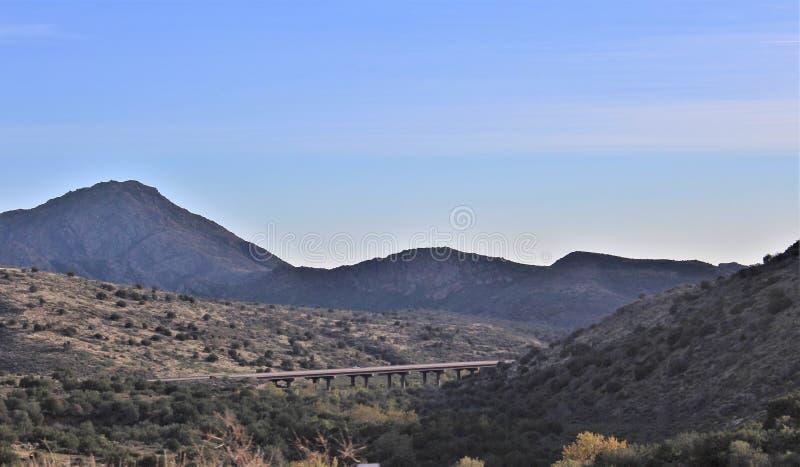 Tonto-staatlicher Wald, Arizona U S Landwirtschaftsministerium, Vereinigte Staaten stockfotos