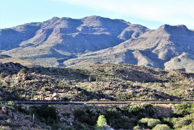Tonto-staatlicher Wald, Arizona U S Landwirtschaftsministerium, Vereinigte Staaten lizenzfreies stockfoto