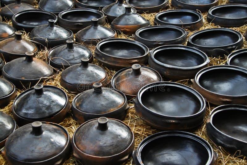 Tonwaren, Äthiopien lizenzfreies stockbild