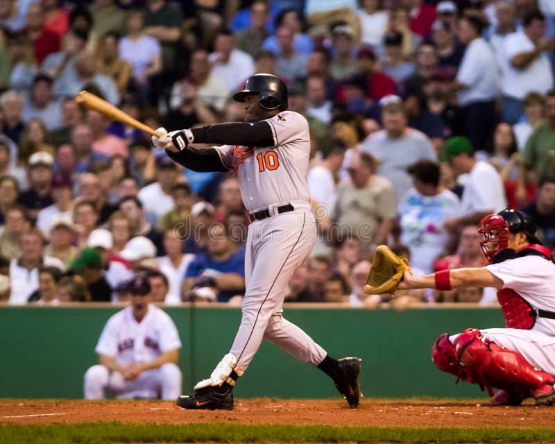 Tony Batista, Baltimore Orioles fotografia de stock