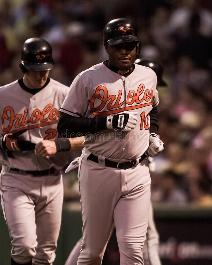 Tony Batista Baltimore Orioles foto de stock
