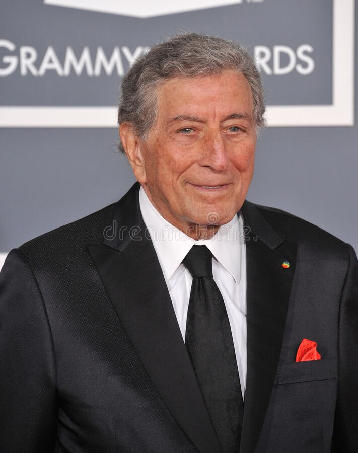 Tony Bennett. LOS ANGELES, CA - February 12, 2012: Tony Bennett at the 54th Annual Grammy Awards at the Staples Centre, Los Angeles..Picture: Paul Smith / stock photos