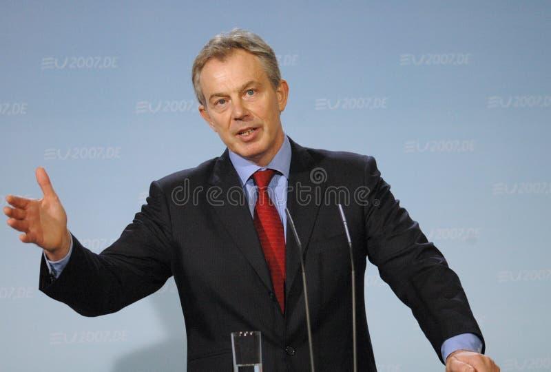 Tony Blair stockfoto