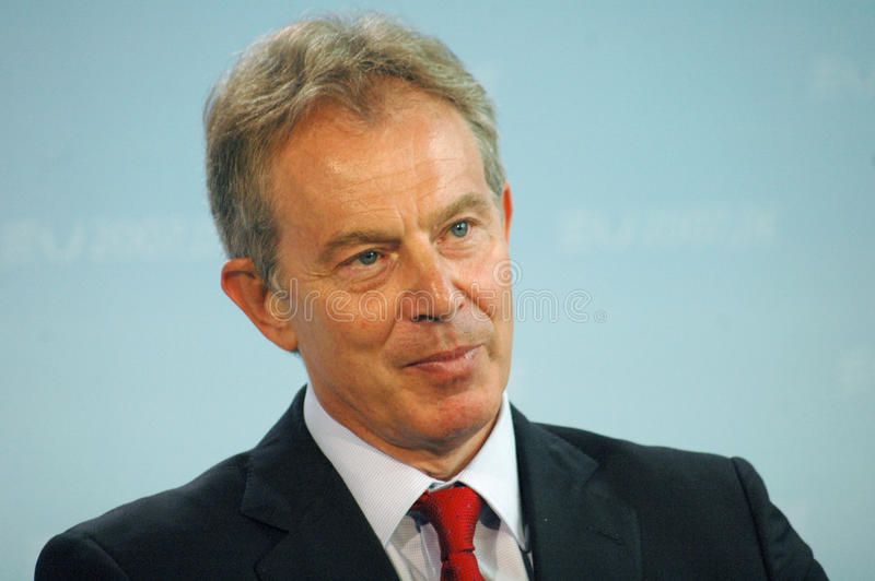Tony Blair fotografia de stock royalty free