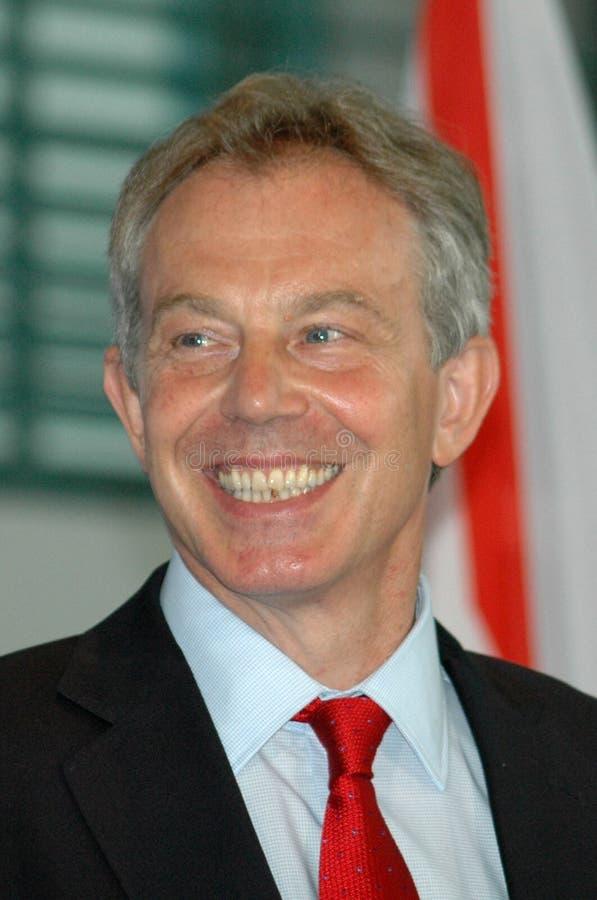 Tony Blair fotografia de stock