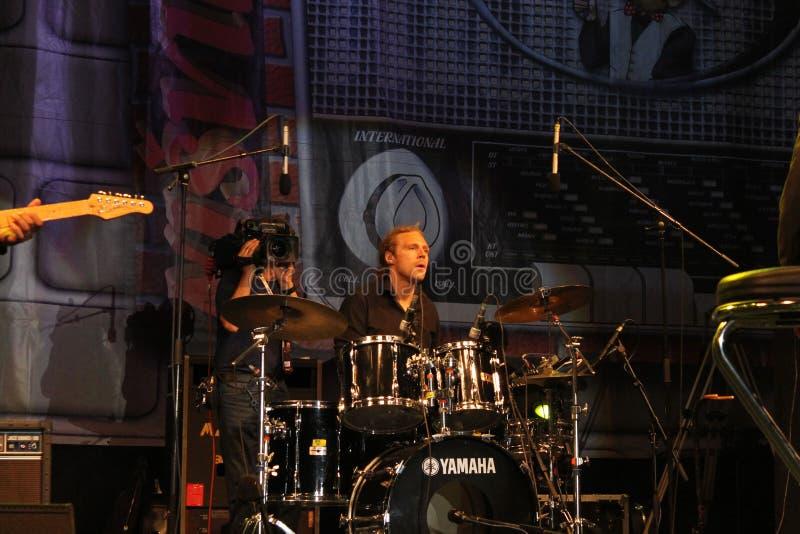 Tony Momrelle Band royaltyfria bilder