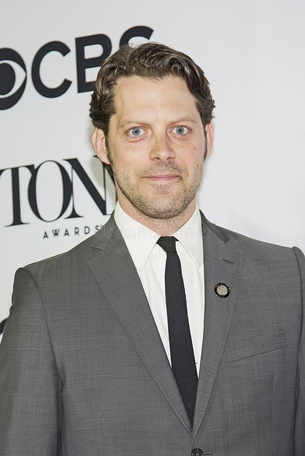 Tony-nominerad skådespelare David Furr royaltyfri fotografi