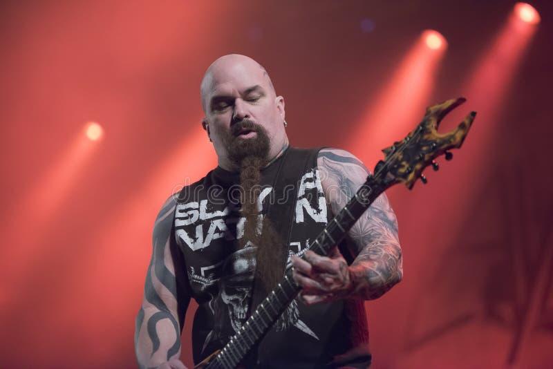 Download Tony Skała, Slayer (dzień 3) Obraz Editorial - Obraz złożonej z mikrofony, melodia: 41955605