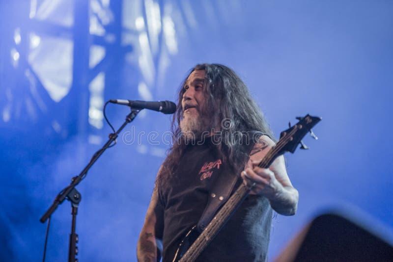 Download Tony Skała, Slayer (dzień 3) Obraz Stock Editorial - Obraz złożonej z żywy, ręka: 41955644
