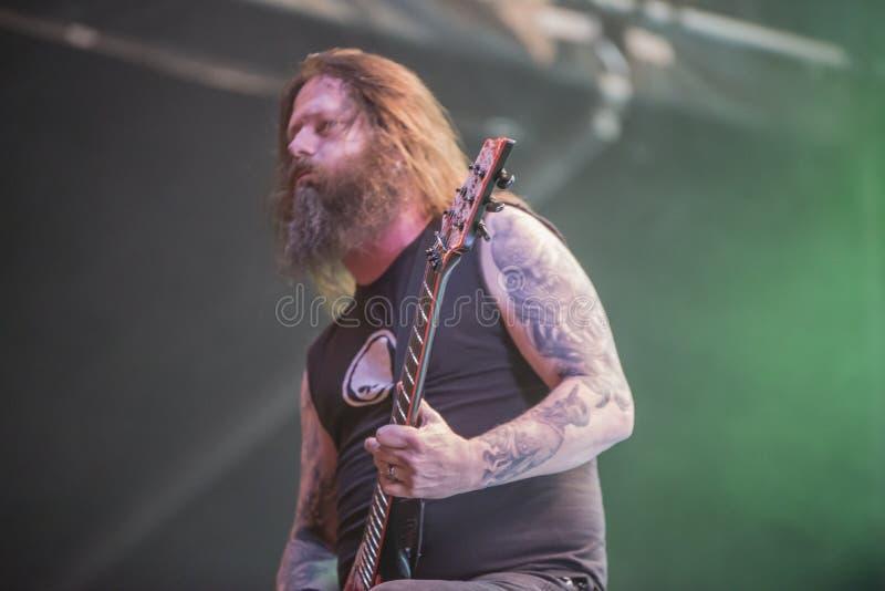 Download Tony Skała, Slayer (dzień 3) Fotografia Editorial - Obraz złożonej z muzyka, nagradzający: 41955657