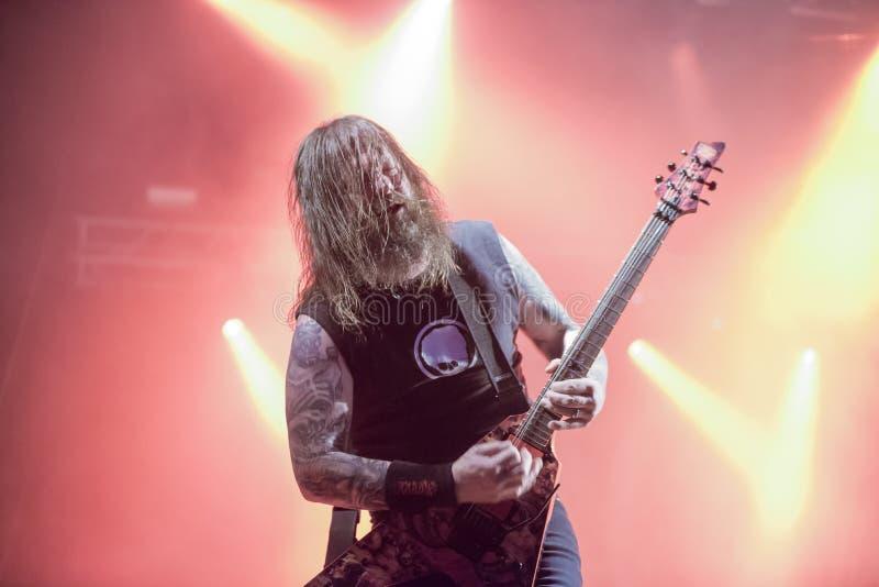 Download Tony Skała, Slayer (dzień 3) Zdjęcie Stock Editorial - Obraz złożonej z gramofony, muzyka: 41955678