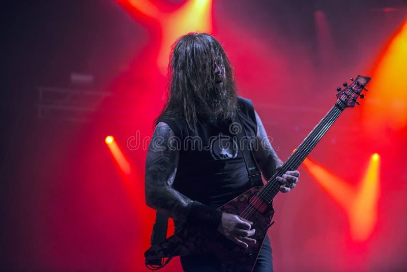 Download Tony Skała, Slayer (dzień 3) Fotografia Editorial - Obraz złożonej z forteca, huntington: 41955687