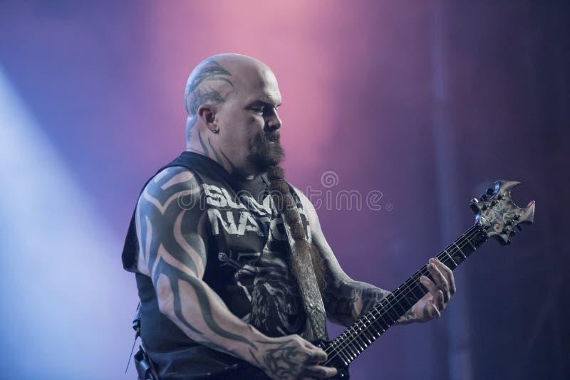 Download Tony Skała, Slayer (dzień 3) Obraz Editorial - Obraz złożonej z forteca, ręka: 41955705