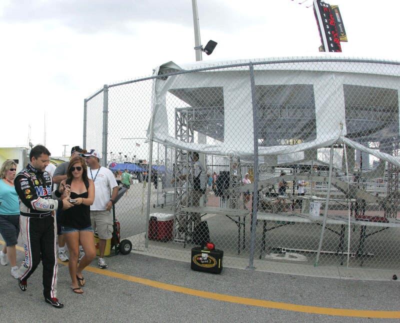 Tony Stewart Daytona imagens de stock