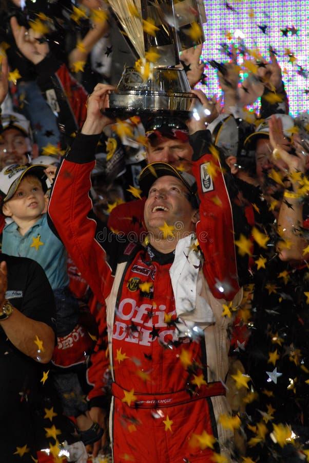 Tony Stewart ganha o ó campeonato fotos de stock royalty free