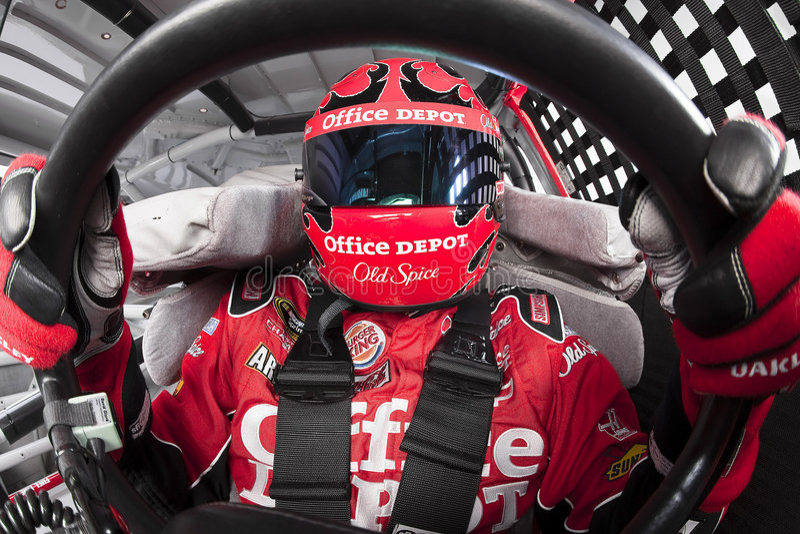 Tony Stewart NASCAR Sprint Cup Series stock image