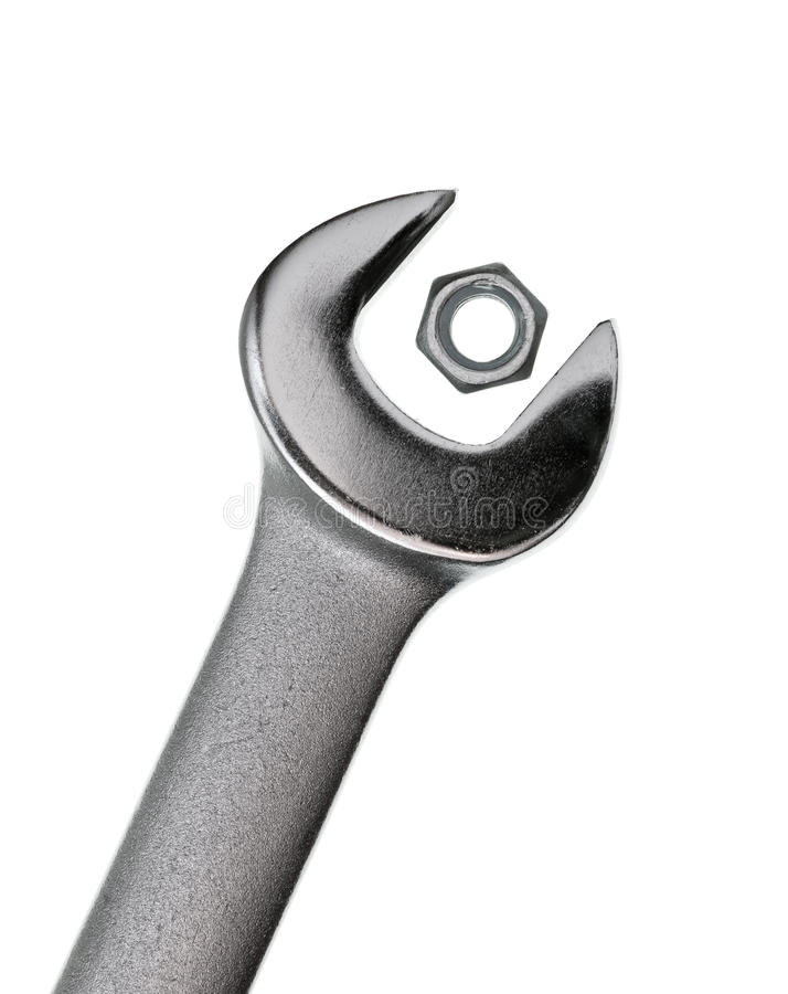 Too Big Wrench Royalty Free Stock Images