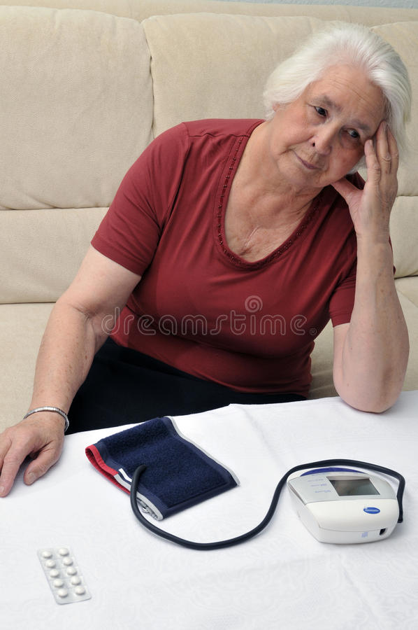 Too high blood pressure stock photos