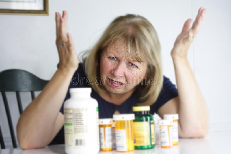 Too Many Pills stock images