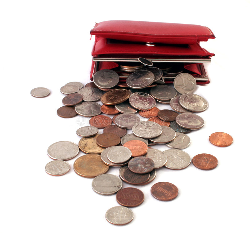 Download Too Much change stock image. Image of american, purse - 4233815