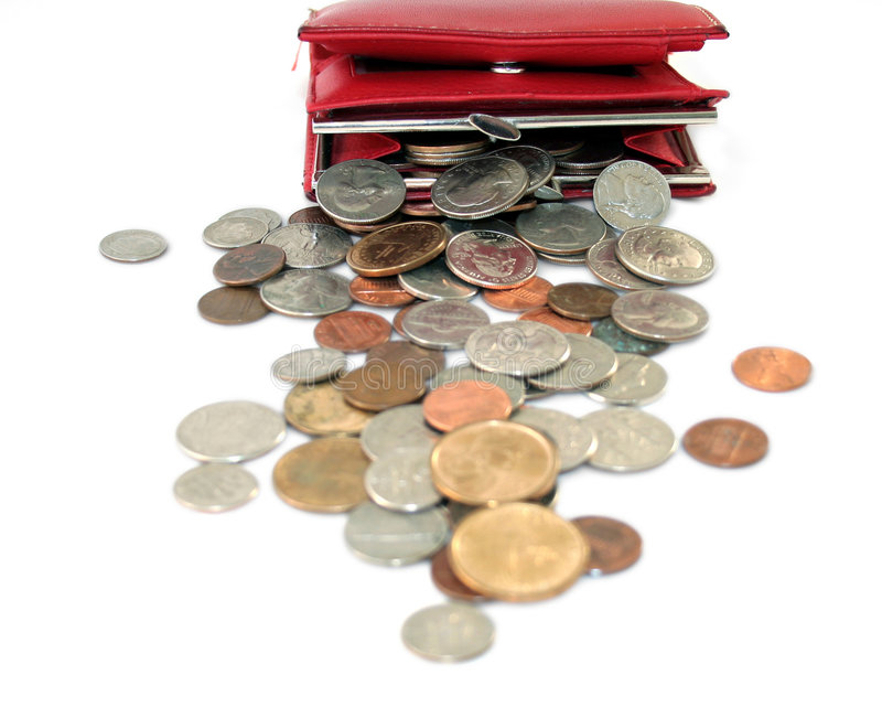 Download Too much change stock image. Image of american, value - 4233857
