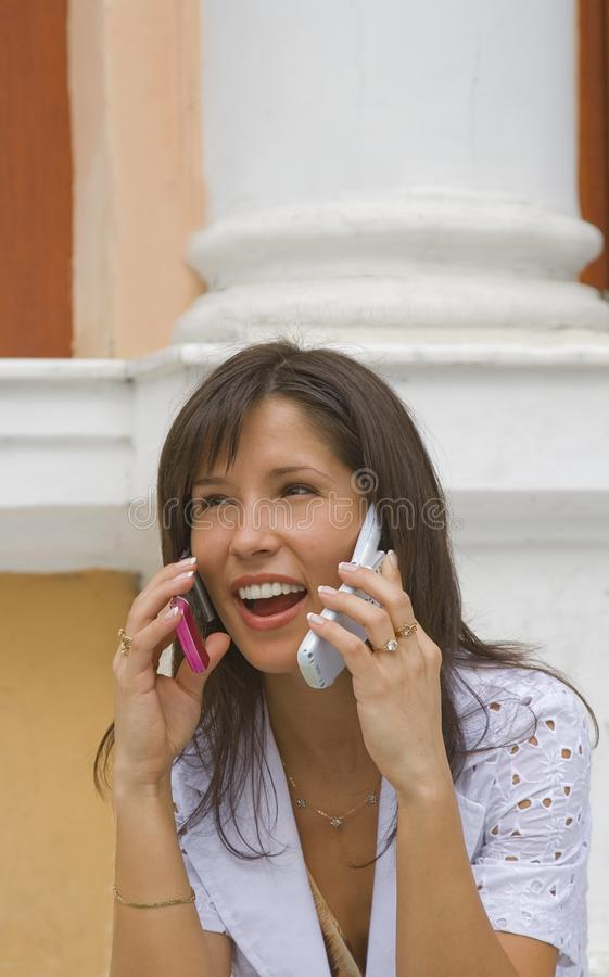 Download Too much technology... stock photo. Image of telephones - 3000670
